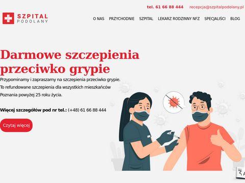 Szpitalpodolany.pl centrum otolaryngologii
