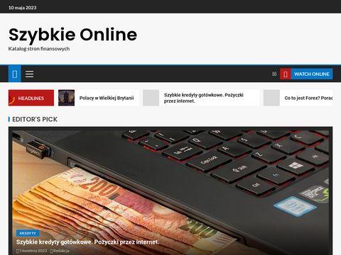 Szybkieonline.pl pożyczki gotówkowe