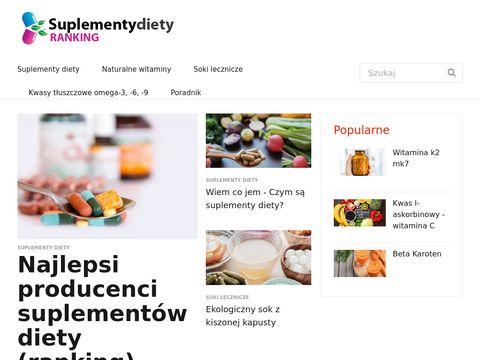 Suplementydietyranking.pl