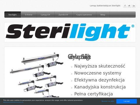 Sterilight.weebly.com - usuń bakterie z wody