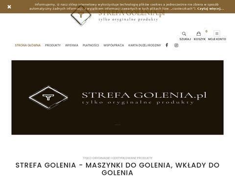 Strefagolenia.pl maszynka