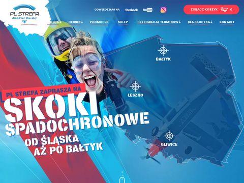 Strefasilesia.pl - skoki spadochronwe