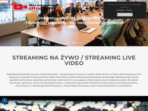 Streamingdlafirm.pl live Warszawa