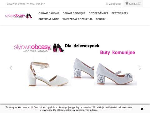 Styloweobcasy.pl sklep z obuwiem damskim