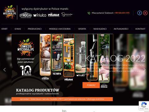 Świeżowyciskaj.pl - wyciskarki Citrocasa