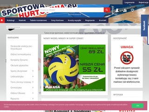 Sportowahurtownia.eu długopisy reklamowe
