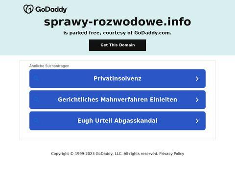 Sprawy-rozwodowe.info adwokat Warszawa
