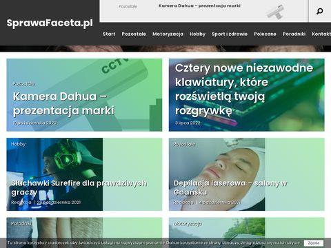 Sprawafaceta.pl portal dla mężczyzn
