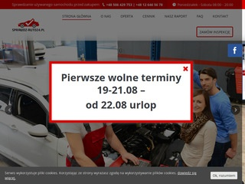 Sprawdz-auto24.pl inspekcja przed kupnem