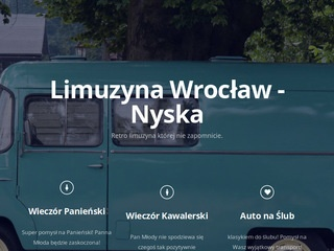 Retronyska.com wrocławskie limuzyny