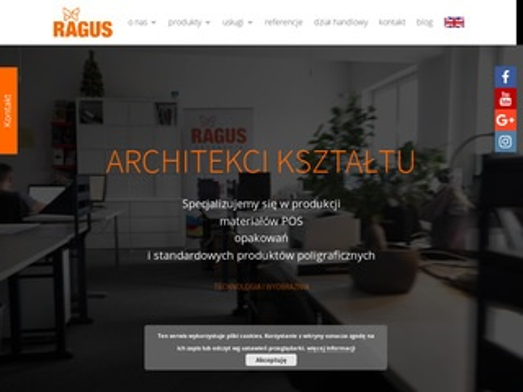 Ragus.pl usługi introligatorskie Warszawa