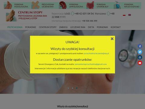 Ranleczenie.pl Centrum Stopy gabinet podologiczny