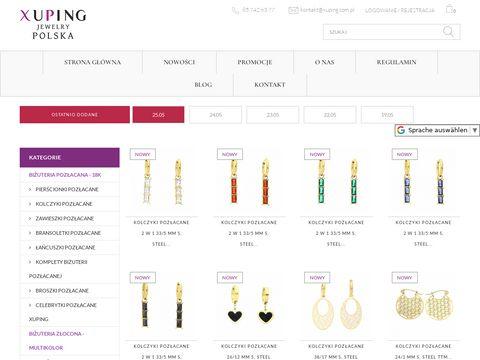 Xuping.com.pl hurtownia sztucznej biżuterii