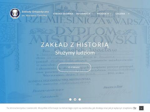 Zow-warszawa.com.pl produkty ortopedyczne