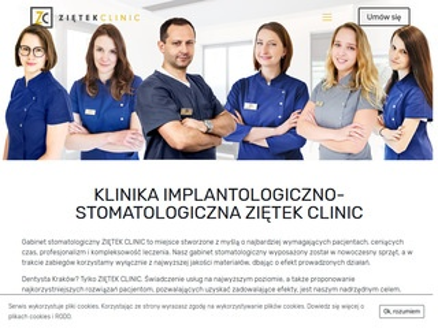 Zietekclinic.com klinika stomatologiczna