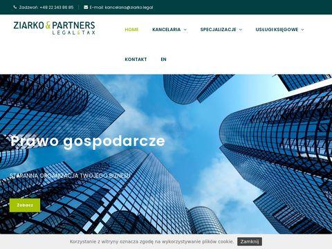 Ziarko Partners kancelaria prawno podatkowa