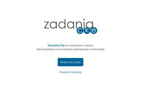 Zadaniacke.pl matura z matematyki w zadaniach