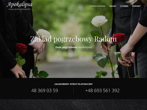 Zakladpogrzebowyradom.pl