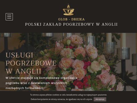 Zakladpogrzebowylondyn.uk polski