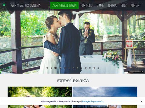 Zatrzymajwspomnienia.pl fotograf ślubny Kraków