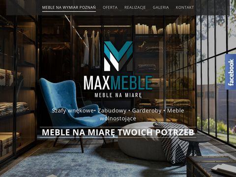 Max-meble.pl na wymiar Poznań