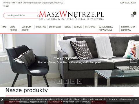 Maszwnetrze.pl listwy przypodłogowe Creativa