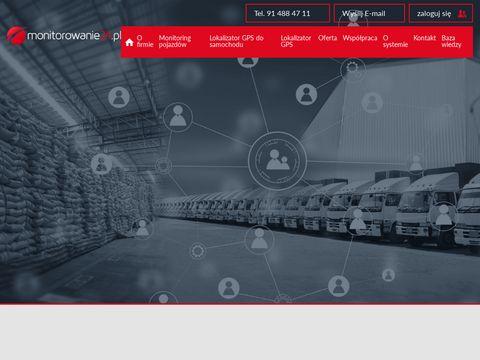 Monitorowanie24.pl monitoring GPS