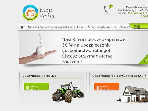 Mojapolisa.net.pl najtańsze ubezpieczenia