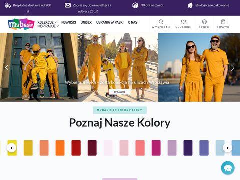 Mybasic.pl spodnie dla niemowlaka