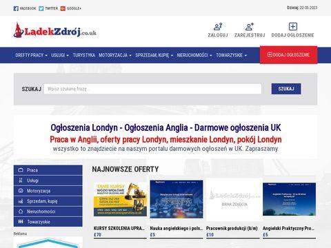 Ladekzdroj.co.uk darmowe ogłoszenia