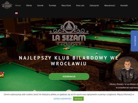 Lasezam.pl salon bilardowy