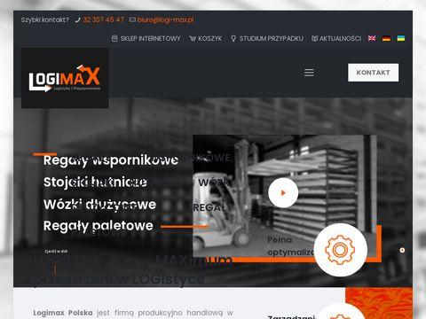 Logi-max.pl produkcja regałów wspornikowych