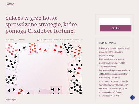 Lotteo.pl wyniki Lotto