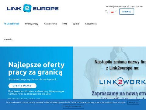 Link2europe.pl - agencja pracy