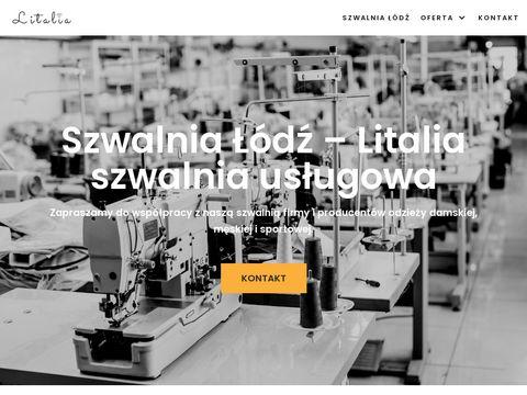 Litalia.pl szycie usługowe odzieży