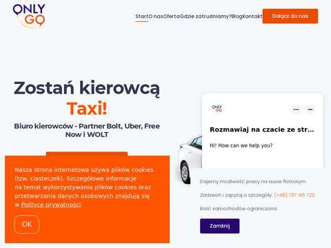 Onlygo.pl praca jako kierowca Uber Kraków