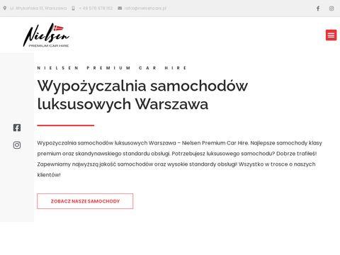 Nielsencars.pl wynajem aut premium