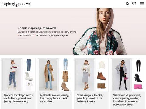 Inspiracjemodowe.pl modne stylizacje