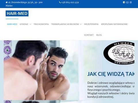 Hair-med.pl przeszczepy włosów