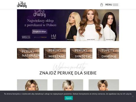 Hairly.pl hurtownia peruk medycznych i naturalnych
