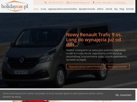 Andax wypożyczalnia samochodów z Rydułtów