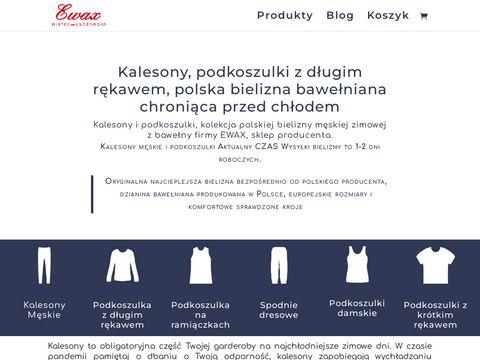 Kalesony.com.pl bielizna termiczna