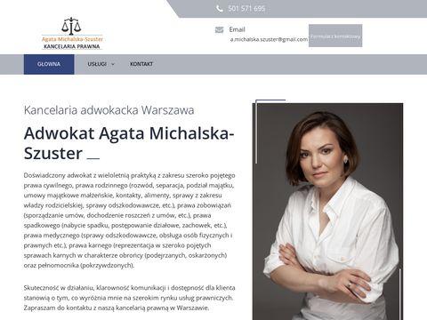Kancelaria-szuster.pl adwokat Michalska