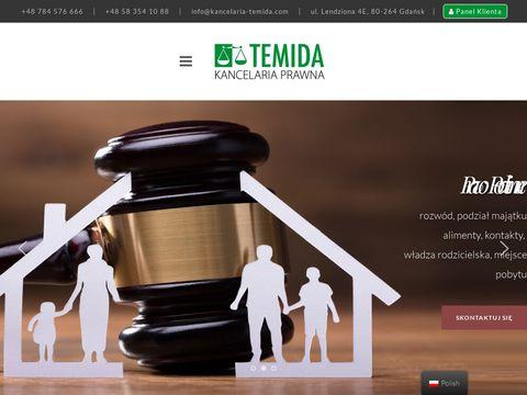 Kancelaria-temida.com rozwody Gdańsk