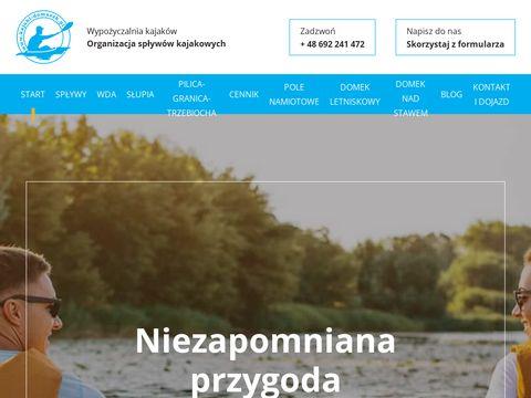 Kajaki-domaszk.pl -kaszuby