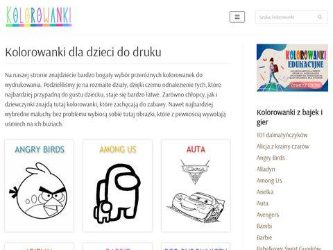 Kolorowanki.info.pl dla dzieci