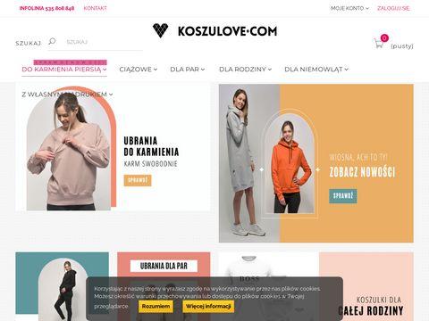 Koszulove.com tanie ubrania ciążowe