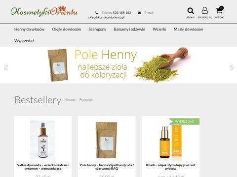 Kosmetykiorientu.pl mydełko sesa