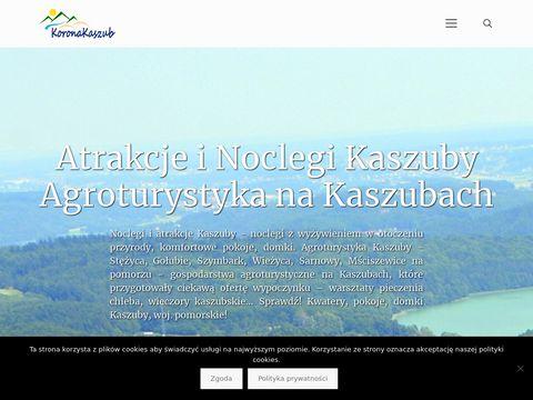 Koronakaszub.com.pl agroturystyka Stężyca