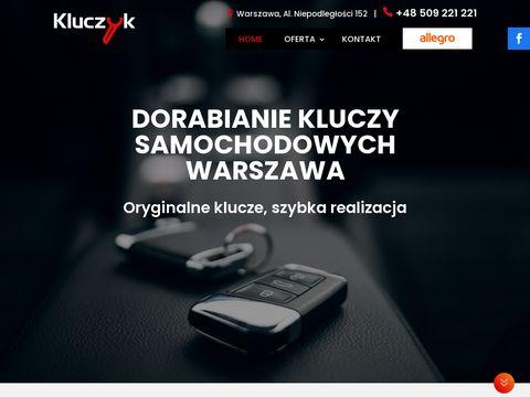 Kluczyk.com.pl dorabianie kluczyków